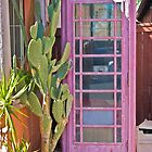 Neighborhood Phone Booth by Linda Gregory