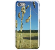 Blowing in the breeze iPhone Case/Skin