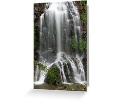 Tristania Falls 1 Greeting Card