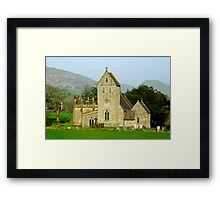 The Church of the Holy Cross, Ilam  Framed Print