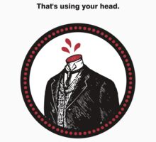 That's using your head. by David Ayala