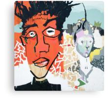 Basquiat et Moi Canvas Print
