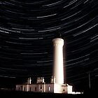 Lossiemouth/Covesea Lighthouse Star Trail by Toastmuncher