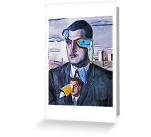 Time Lord. Greeting Card