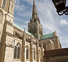 Chichester Cathedral by Keith Larby