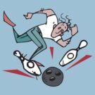 Bowling Strike by SportsT-Shirts
