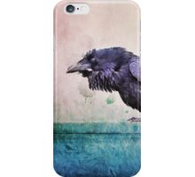 Words of a Raven iPhone Case/Skin