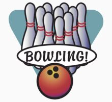 Bowling by SportsT-Shirts