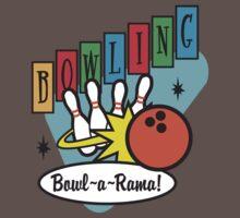 Retro Bowling Kids Clothes