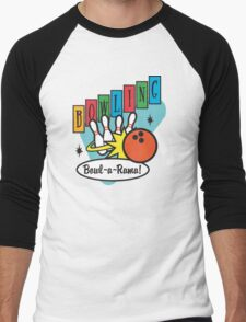 Retro Bowling Men's Baseball ¾ T-Shirt
