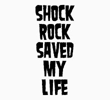 Shock Rock Saved My Life (Black) Mens V-Neck T-Shirt