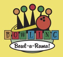 Bowling Retro Kids Clothes