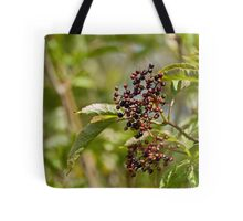 Ripening Elderberries Tote Bag