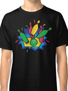 Bowling Abstract Classic T-Shirt