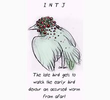 MBTI GHOSTS AND GHOULS- INTJ BIRD MONSTER MUTANT Unisex T-Shirt