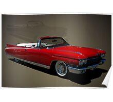 1960 Cadillac Eldorado Convertible Poster