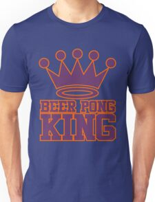 Beer Pong King Unisex T-Shirt