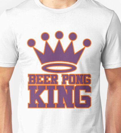 Beer Pong King Unisex T-Shirt