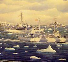 U. S. Coast Guard, Greenland Patrol, WWII by William H. RaVell III