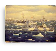 U. S. Coast Guard, Greenland Patrol, WWII Canvas Print