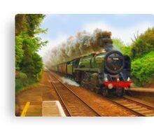 The Return Trip (Locomotive) Canvas Print