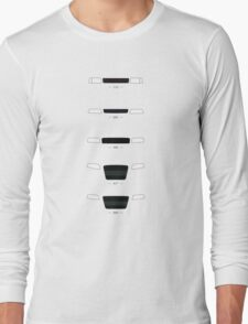 German Sedans (B8, B7, B6, B5, 4C) simple front end design Long Sleeve T-Shirt