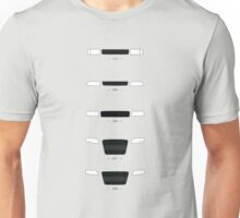 German Sedans (B8, B7, B6, B5, 4C) simple front end design Unisex T-Shirt