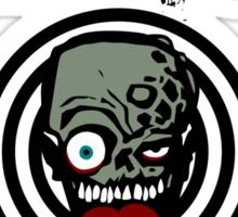 Zombie Emergency Response Team 666 Sticker