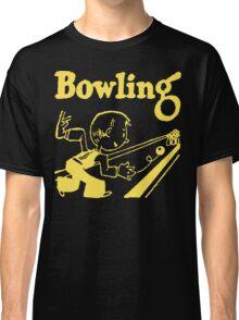 Bowling Vintage Dark Classic T-Shirt