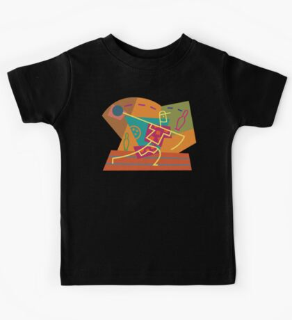 Abstract Bowling Kids Tee