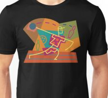 Abstract Bowling Unisex T-Shirt