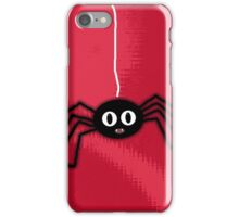 ITSY BITSY SPIDER - RED iPhone Case/Skin