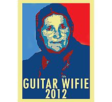 Guitar Wifie for President 2012 Photographic Print
