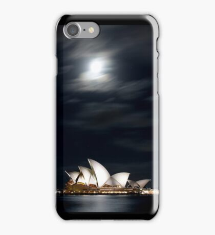 Opera under the moon iPhone Case/Skin