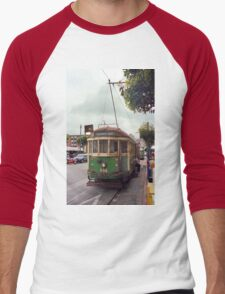 San Francisco Cable Car Men's Baseball ¾ T-Shirt