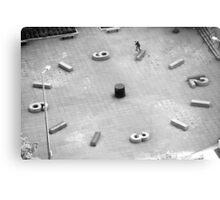 Brad Hendrickson - Backside Tailslide - Downtown - Photo: Sam McGuire Metal Print