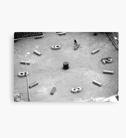Brad Hendrickson - Backside Tailslide - Downtown - Photo: Sam McGuire Canvas Print