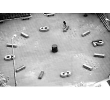 Brad Hendrickson - Backside Tailslide - Downtown - Photo: Sam McGuire Photographic Print