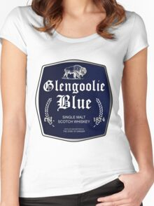 Glengoolie Blue Women's Fitted Scoop T-Shirt