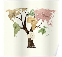 Earth Tree (Birds) Poster