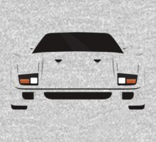 Italian supercar simplistic front end design One Piece - Long Sleeve