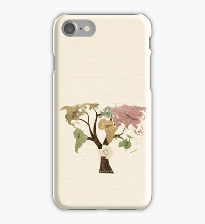 Earth Tree (Birds) iPhone Case/Skin