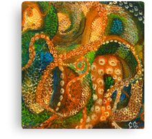 Scales & Tentacles Canvas Print