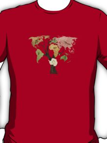 Earth Tree (Birds) T-Shirt