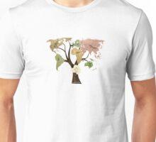 Earth Tree (Birds) Unisex T-Shirt