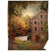 Olde Stone Mill Poster
