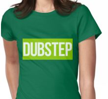 Dubstep (Green) Womens Fitted T-Shirt
