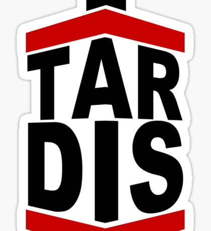 Tar DIS (Light) Sticker