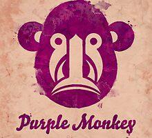 Purple Monkey I. by olivertrigger