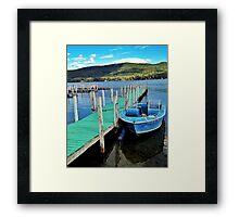 Lake Geoge Framed Print